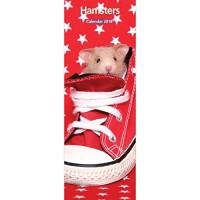 Hamster 12 Month 2016 Slim Calendar