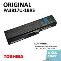 Baterai Toshiba L645 L630 L745 PA3817U Laptop Notebook Original