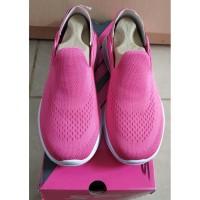 Sepatu Sneakers Anak Skechers Kids Go Walk Joy Easy Steps Pink Size 4
