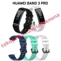 Strap Smartwatch Jam Huawei Band 3 Pro - Hitam - Biru navy