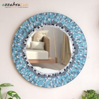 Kaca Cermin Dinding kado Kaca Rias Wastafel Kamar Mandi Mirror Mosaic