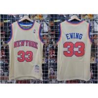 Jersey Baju Basket Classic Hwc Newyork Ewing Gold