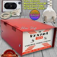 The VEXTRA Dua Alat Elektronik Max 2500 W Penghemat Listrik Auto Start