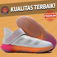 Sepatu Basket Sneakers Adidas Harden BE 3 White Multicolor Pria Wanita