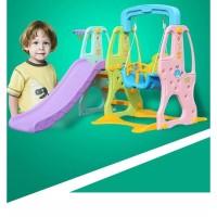 Playground colorfull plastic baby slide swing Baby Kids Play Ground