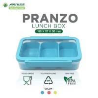 Arniss Pranzo Lunch Box Kotak Tempat Makan Plastik Bekal Oishii