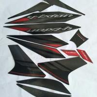 sticker striping Ori Yamaha new Vixion 2014 hitam