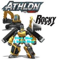 Mainan Robot Anak Tobot Figure Athlon Rocky Original / Robot Car