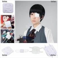 Masker Penutup Mata Desain Anime Tokyo Ghoul Kaneki Ken Untuk Cos