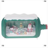 Kartu Ucapan Selamat Natal 3D Vintage Dengan Amplop
