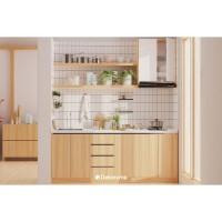 Dekoruma Desain Kitchen Set Minimalis - Dapur Dama (The Simple Chef)