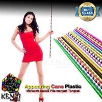 Appearing Cane Plastik | Alat sulap Tongkat