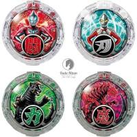 Bandai Ultraman R/B DX R/B Crystal Crystals Set 01