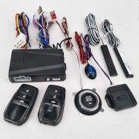Car Alarm Keyless Push Button Engine Start/Stop Bagus