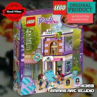 LEGO Original FRIENDS 41365 Emmas Art Studio - Mainan Anak Perempuan