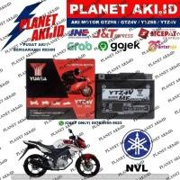 Aki Motor Yamaha NVL New Vixion Lighting YTZ4V YUASA Accu Kering MF