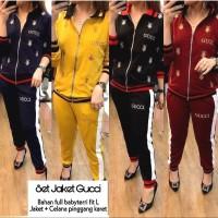 Baju Setelan Jaket Gucci/Setelan Wanita