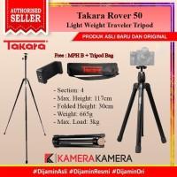 Takara Rover 50 Light Weight Traveler Tripod + Holder U ATTanta