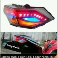 STOPLAMP LED LAMPU STOP JPA EAGLE 3 IN 1 KAWASAKI NINJA FI & Z 250