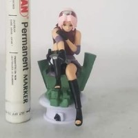 mainan action figure sakura haruno duduk naruto movie series tinggi