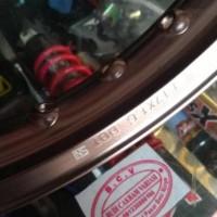 Velg TDR ER shape Ring 17 titanium brown harga untuk 1pcs / ukuran 160