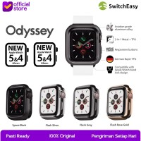 Case Apple Watch 44mm & 40mm SwitchEasy Oddysey Casing Cover Original