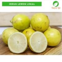Jeruk Lemon Lokal 1 Kg Fresh Grade A Lemon - Buah Segar Murah