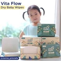 Vita Flow Dry Baby Wipes Satine