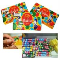 Balon Tiup Merk AAA, Plembungan Mainan anak Kuno Jadul Murah