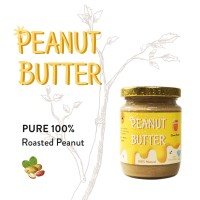 Pure 100% Peanut Butter ORIGINAL / Selai Kacang Asli / Tawar