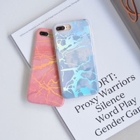 MARBLE HOLOGRAM CASE IPHONE OPPO A37, F1s, F3, A39, F5