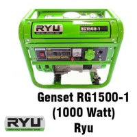 Mesin Genset RG1500-1 1000 Watt Ryu Generator