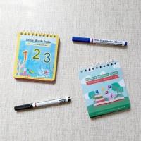 Bundling Wipe and Clean Belajar Menulis Angka dan Huruf