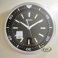 SEIKO QXA723 Lumibrite ORIGINAL WITH WARRANTY Jam Dinding 35 cm