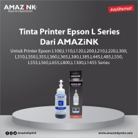 Tinta Printer Epson L Series Cyan dari AMAZINK
