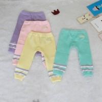 Legging Bayi Lolipop Series - 3-6 Bulan, Merah Muda