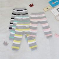 Legging Bayi Grey Stripe - Kuning