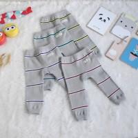 Legging Bayi Grey Series - 3-6 Bulan, Merah