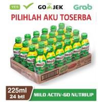 Susu Milo Botol Pet Coklat ACTIVE GO NUTRI UP - 225 ml (1 dus isi 24)