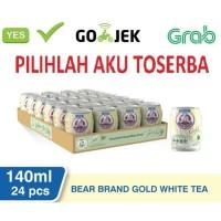 Susu Beruang Bear Brand Gold White TEA - 140 ml (1pack isi 24)