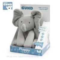 GUND - ORIGINAL Peek A Boo FLAPPY ELEPHANT
