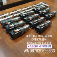KNALPOT SLIP ON AUSTIN RACING GP1R CARBON NINJA 250 FI NEW