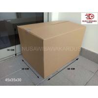 kardus box packing polos 45x35x30