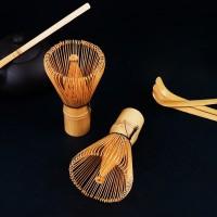 Kuas Pengaduk Matcha Green Tea Bamboo Whisk Brush
