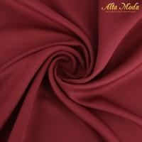 Alta Moda Furing Premium Wolly Crepe Satin Merah Maroon (1M)