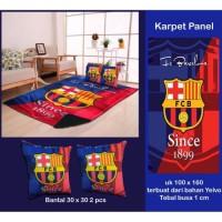 Karpet Panel Anak / Karpet Karakter Barca Uk 100x150cm Bahan Yelvo