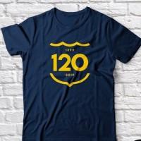 KAOS BARCA 120 TAHUN ANNIVERSARY Baju tshirt barcelona