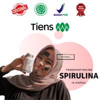 Masker Spirulina Tiens | Masker Jerawat | Kulit Cerah | Isi 10 Kapsul