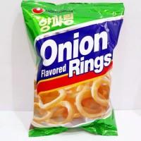 Nongshim Onion Flavored Rings 50 gr snack korea original
