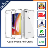Anti Crack Shock Case Silikon Casing iPhone 8 Plus X XR XS 11 Pro Max
